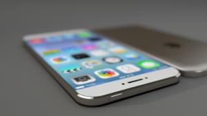 Een fotobewerking van hoe de iPhone 6 er waarschijnlijk uit gaat zien.